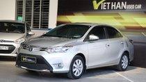 Bán Toyota Vios E 1.5AT 2016, màu bạc, 506tr