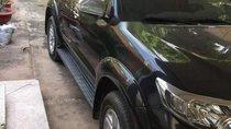Bán Toyota Fortuner sản xuất năm 2012, màu đen, giá chỉ 700 triệu