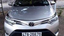 Cần bán Toyota Vios sản xuất 2015, màu bạc, chính chủ