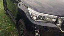 Bán Toyota Hilux 2.8AT sản xuất 2019, màu đen, xe nhập