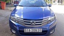 Bán xe Honda City AT đời 2010, màu xanh lam, xe nhập