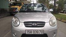 Cần bán lại xe Kia Morning đời 2011, màu bạc còn mới