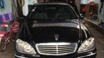 Bán Mercedes S500 sản xuất năm 2002, màu đen, xe nhập xe gia đình, giá tốt