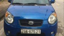 Cần bán lại xe Kia Morning đời 2008, màu xanh lam, nhập khẩu Hàn Quốc, giá 220tr