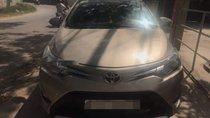 Bán Toyota Vios E AT sản xuất năm 2017, màu vàng, số tự động, 525tr