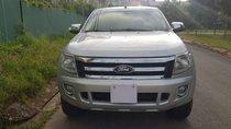 Bán Ford Ranger đời 2013, màu bạc, xe nhập