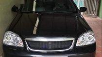 Cần bán Daewoo Lacetti sản xuất năm 2009, màu đen, giá 180tr