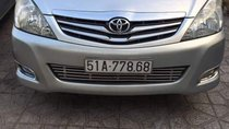Cần bán gấp Toyota Innova sản xuất năm 2010, màu bạc, nhập khẩu, 450 triệu