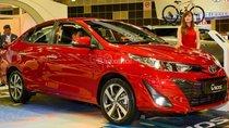 Bán xe Toyota Vios E 2019, màu đỏ, hỗ trợ trả góp lên tới 80% giá trị xe