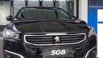 Cần bán gấp Peugeot 508 1.6 AT năm 2015, màu đen, nhập khẩu nguyên chiếc