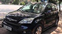 Cần bán Honda CRV 2.4 AT sản xuất 2009, màu đen, biển Hà Nội tên tư nhân, nội thất nguyên bản