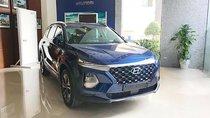 Bán Hyundai Santa Fe 2.4L HTRAC đời 2019, màu xanh lam