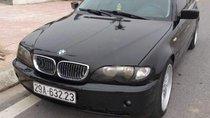 Bán BMW 3 Series 318i sản xuất năm 2003, màu đen, nhập khẩu nguyên chiếc, giá chỉ 230 triệu