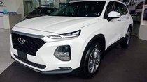 Bán ô tô Hyundai Santa Fe sản xuất năm 2019, màu trắng