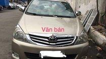 Cần bán lại xe Toyota Innova sản xuất năm 2008 chính chủ, giá 395tr