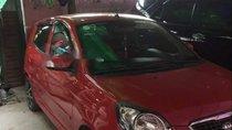 Cần bán Kia Morning sản xuất 2011, màu đỏ, Đk 2011