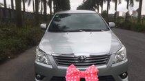 Bán Toyota Innova đời 2013, màu bạc