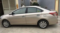 Cần bán lại xe Toyota Vios G đời 2015, màu vàng