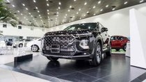 Bán Hyundai Santa Fe 2019 máy dầu bản đặc biệt _ Đủ phiên bản, đủ màu, giao xe ngay