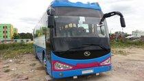 Cần bán xe 47chỗ Thaco Kinglong sản xuất 2007, màu xanh lam, giá chỉ 390tr