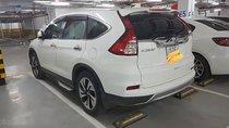 Bán Honda CR V đời 2015, màu trắng, test hãng thoải mái