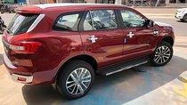 Bán Ford Everest 2.0 Biturbo sản xuất 2018, màu đỏ, nhập khẩu
