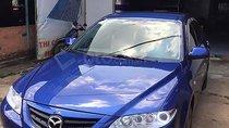 Bán xe Mazda 6 năm sản xuất 2003, màu xanh lam như mới