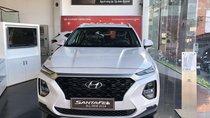 Bán xe Hyundai Santa Fe đời 2019, màu trắng, giá hấp dẫn