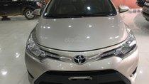 Bán xe Toyota Vios E đời 2016, màu cát