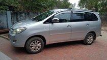 Cần bán gấp Toyota Innova J đời 2007, màu bạc, 260tr