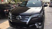 Cần bán gấp Toyota Fortuner 2.4G đời 2018, màu đen, nhập khẩu