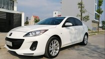 Cần bán lại xe Mazda 3 sản xuất năm 2014, màu trắng, 505 triệu