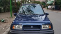 Cần bán xe Suzuki Vitara MT đời 2004, màu xanh lam