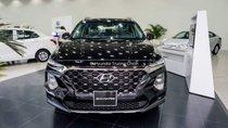 Cần bán xe Hyundai Santa Fe năm sản xuất 2019, màu đen, 975 triệu