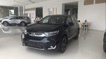 Bán Honda CR V năm 2019, màu đen, nhập khẩu, giá tốt
