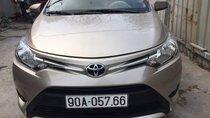 Bán Toyota Vios năm sản xuất 2017, màu vàng, 483tr
