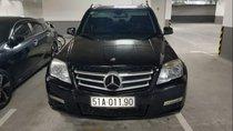 Bán Mercedes GLK đời 2009, màu đen, giá tốt