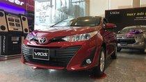 Bán xe Toyota Vios 2019, giảm tiền mặt 25tr, tặng bộ DVD cảm ứng, camera de và bọc ghế, thanh toán 170tr nhận xe ngay