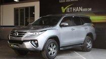 Cần bán Toyota Fortuner G 2.4MT năm sản xuất 2017, màu bạc, xe nhập