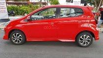 Bán xe Toyota Wigo 1.2G AT sản xuất năm 2018, màu đỏ, nhập khẩu nguyên chiếc