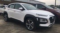 Bán Hyundai Kona Turbo màu trắng xe giao ngay, giá cực tốt, hỗ trợ vay trả góp ls ưu đãi, LH 0903175312