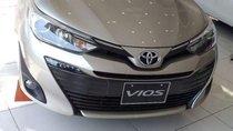 Cần bán xe Toyota Vios năm sản xuất 2019, màu vàng giá cạnh tranh