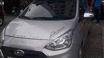 Bán Hyundai Grand i10 MT năm sản xuất 2017, màu bạc như mới