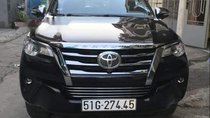 Bán Toyota Fortuner 2017, màu đen, nhập khẩu chính chủ