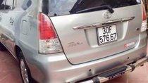 Bán Toyota Innova G đời 2009, màu bạc số sàn giá cạnh tranh