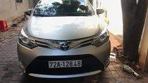 Bán Toyota Vios G năm sản xuất 2015, màu bạc