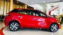 Cần bán xe Toyota Yaris sản xuất năm 2019, màu đỏ, nhập khẩu nguyên chiếc