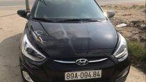 Bán lại xe Hyundai Accent Blue đời 2016, màu đen, nhập khẩu chính chủ