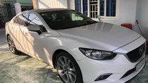 Cần bán xe cũ Mazda 6 đời 2015, màu trắng như mới