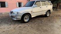 Bán ô tô Ssangyong Musso 2.3 năm 2001, màu trắng